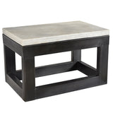Coventry Iron and Marble Coffee Table
