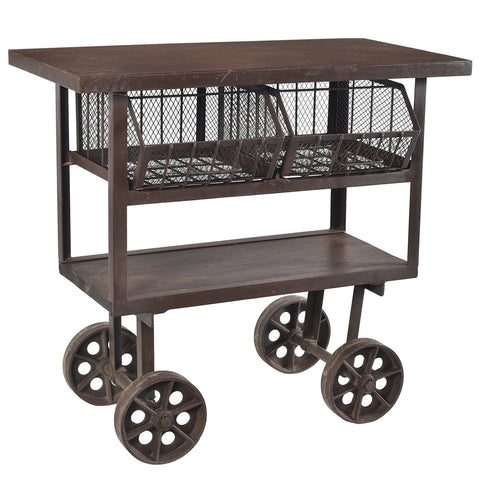 Brighton Iron and Wood Trolley