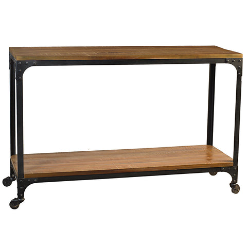 Bedford Console, Rustic Gray Wash