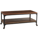 Bedford Coffee Table, Rustic Dark Gray Wash