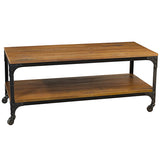 Bedford Coffee Table, Rustic Gray Wash