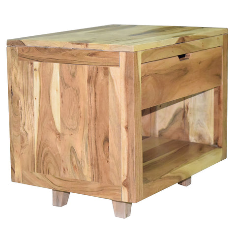 Tova Side Table, Natural