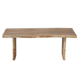 "Ebba Dining Table 79"", Natural Acacia"