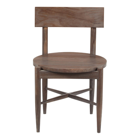 Laila Dining Chair, Gray Wash