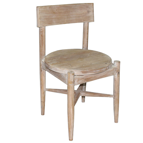 Laila Dining Chair, Whitewash