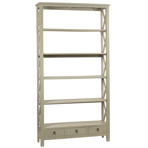 Allison Bookcase Extra Large, Glacier Gray
