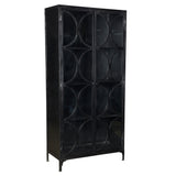 Brickman Iron and Glass Cabinet