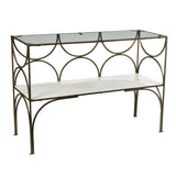Allegro Iron Console Table