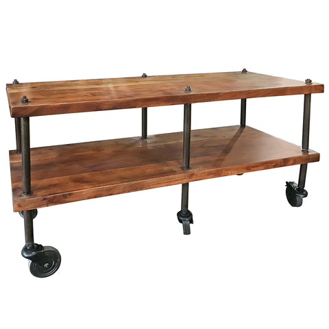 Aurelia Iron And Wood Console