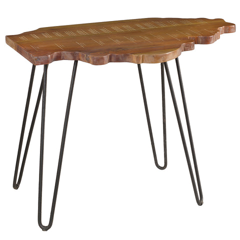 Illinois End Table, Rustic Gray Wash