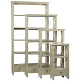Allison Bookcase Small, Glacier Gray