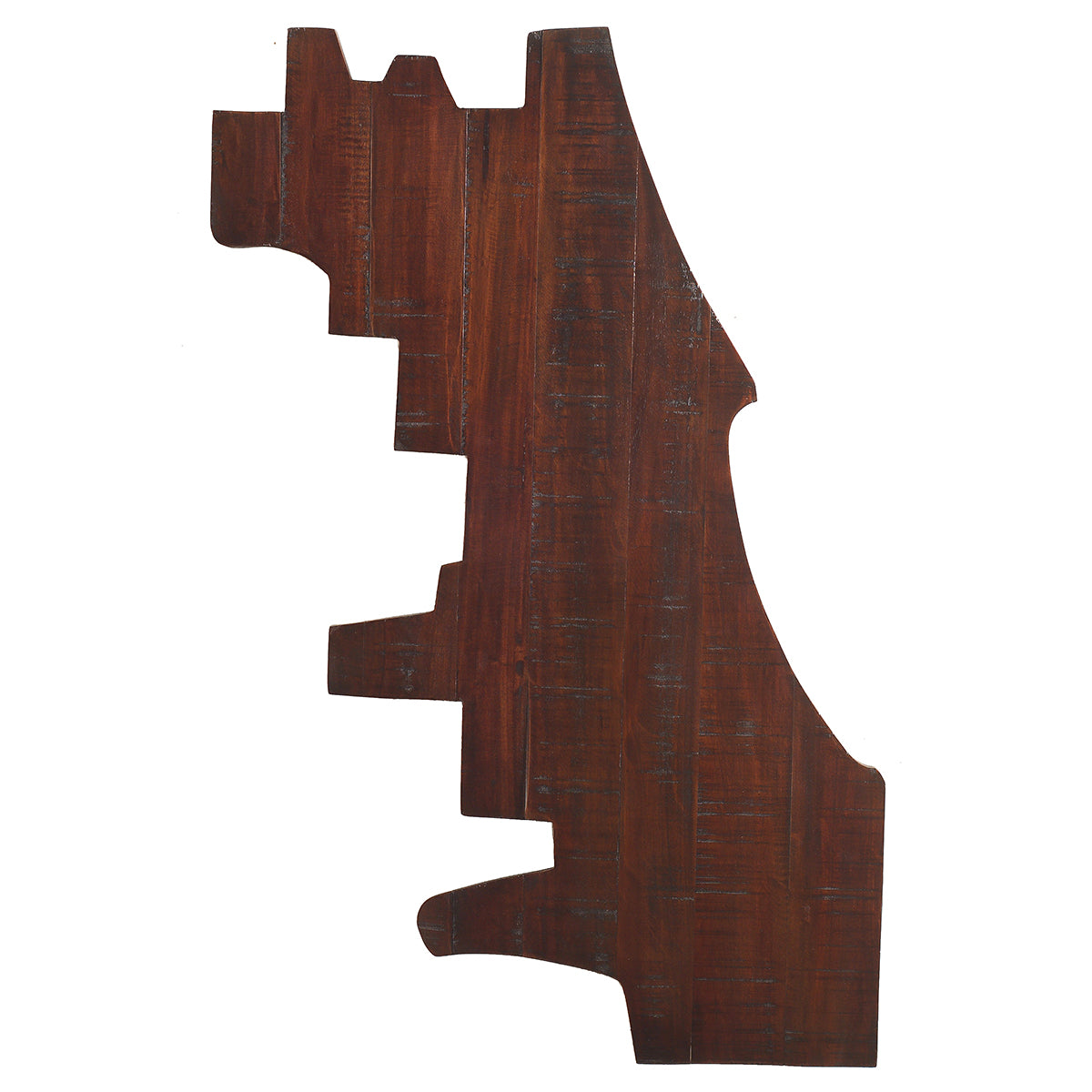 Chicago Map Wall Art Rustic Tobacco Wrightwood Furniture