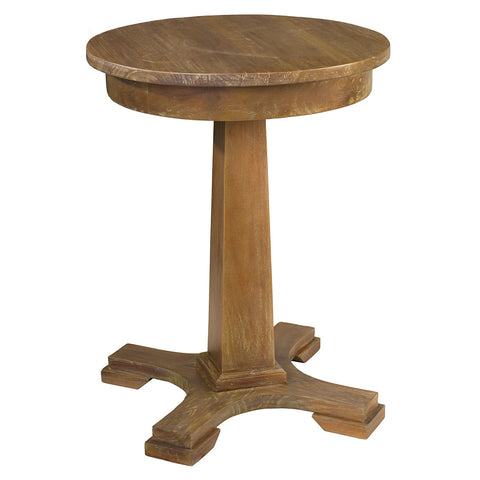 Empire Side Table, Gray Wash