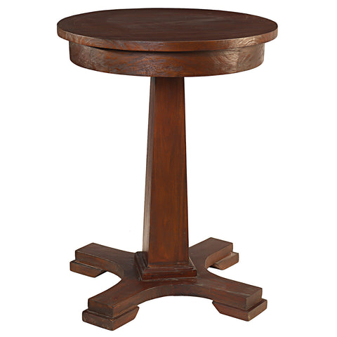 Empire Side Table, Light Mahogany