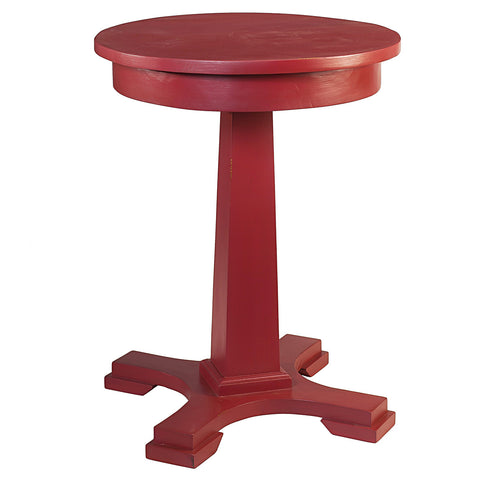 Empire Side Table, True Red