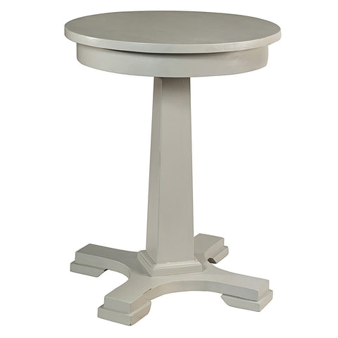 Empire Side Table, Silver Gray