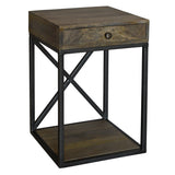 Aare Side Table, Grey Brown