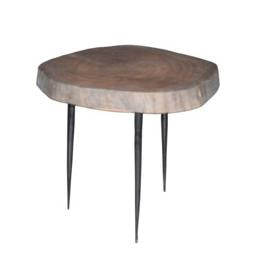 Aare Slab Table, Grey Brown