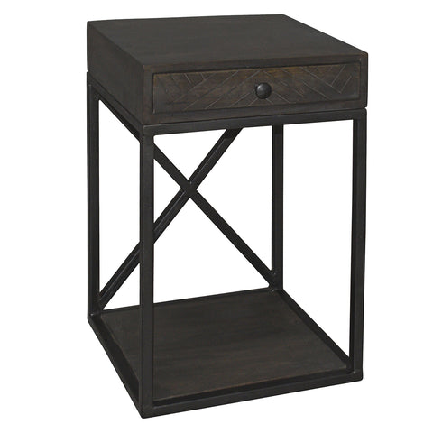 Aare Side Table, Graphite