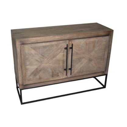 Aoos Parquet Sideboard, Graphite