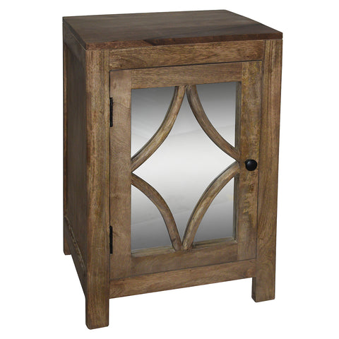 Pechora Side Table, Light Bleach