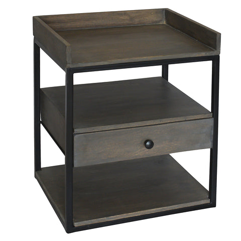 Acer Side Table, Graphite