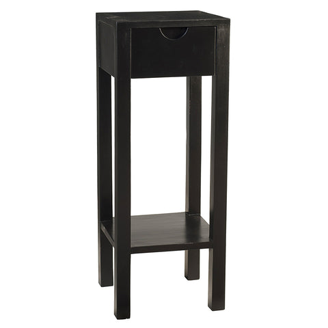 Valmont Pedestal Table, Black