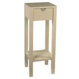 Valmont Pedestal Table, Glacier Gray