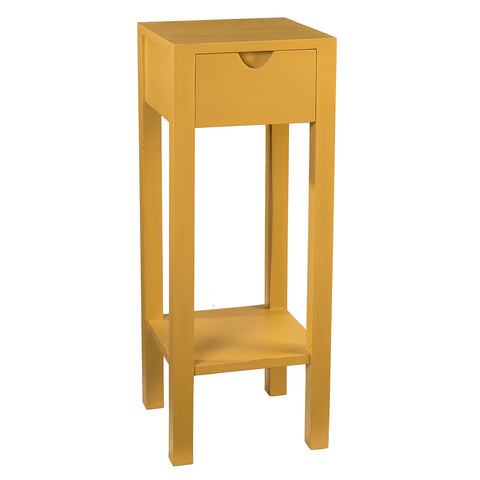 Valmont Pedestal Table, Sunset Gold