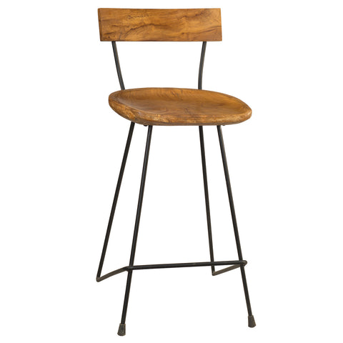 Adonara Counter Stool, Natural