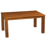 "Benicia Teak Dining Table 62"", Natural"