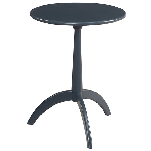 Malmo Round End Table, Navy