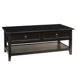 Hans Coffee Table, Black