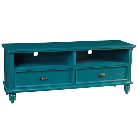 Peoria Media Stand, Teal