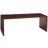 Dove Coffee Table, Dark Mahogany