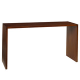 Dove Console, Light Walnut