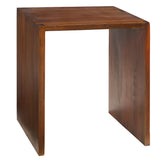Dove Side Table, Light Walnut
