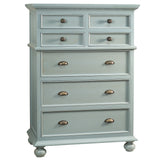 Callie Tall Chest, Slate Blue