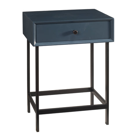 Brooke End Table, Navy