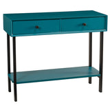 Brooke Console, Teal