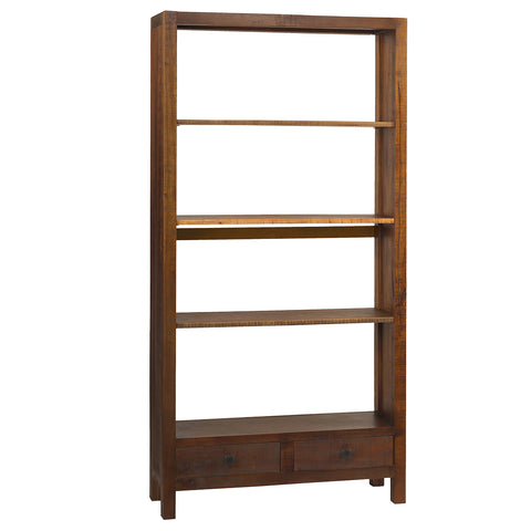 Betty Bookcase Large, Rustic Honey