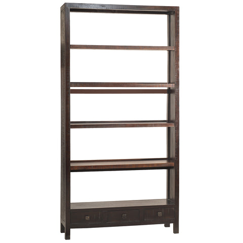 Betty Bookcase Extra Large, Rustic Espresso