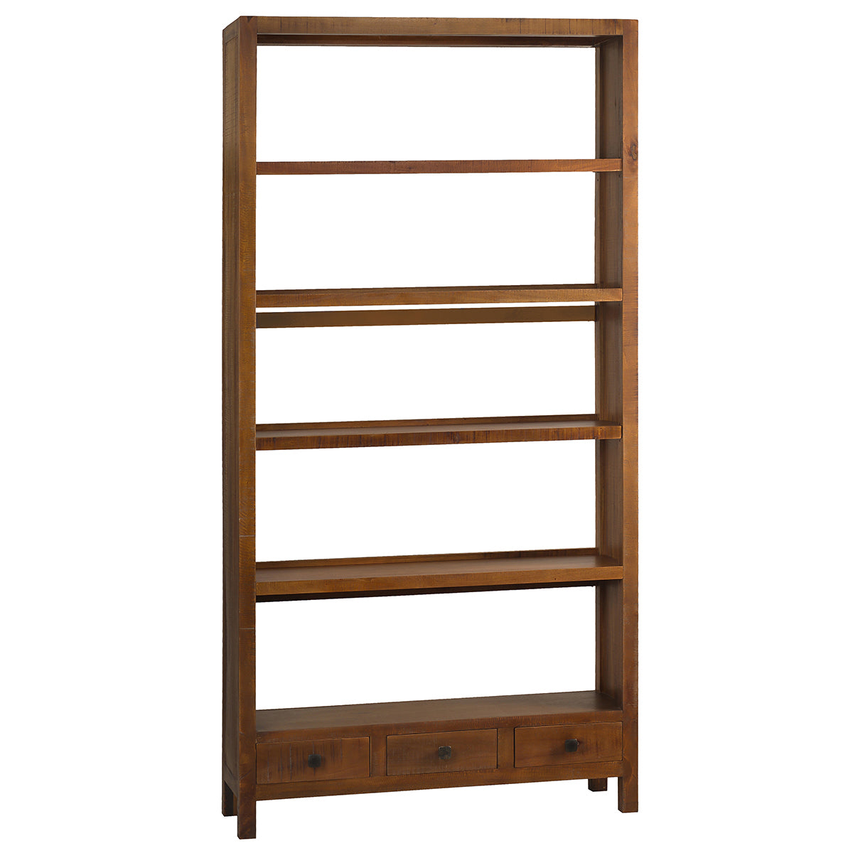 Betty Bookcase Extra Large Rustic Gray Wash