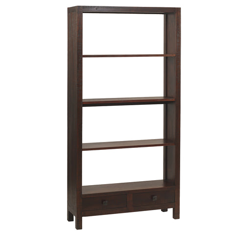 Betty Bookcase Large, Rustic Tobacco