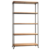 "Bedford Library Shelves 107"", Rustic Honey"