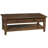 Chewi Coffee Table, Dark Gray Wash