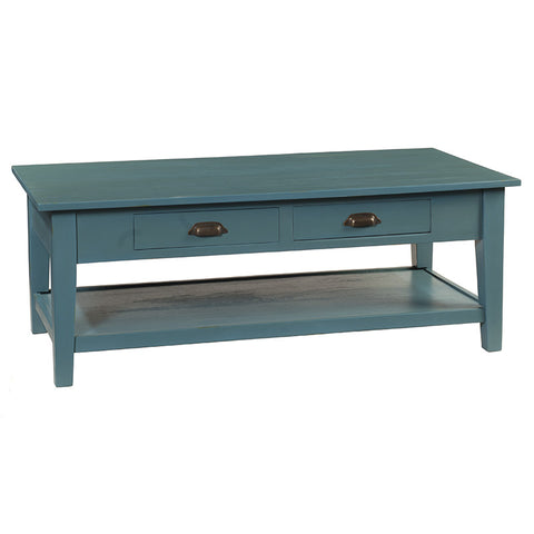Chewi Coffee Table, Teal