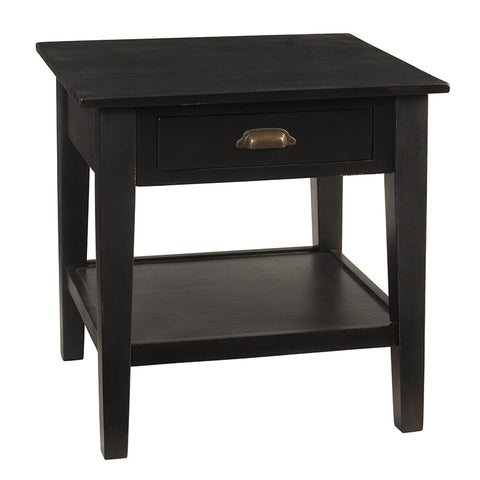 Chewi End Table, Black