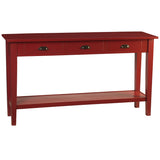 Chewi Console, True Red