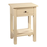 Griffin Side Table, Cloud White